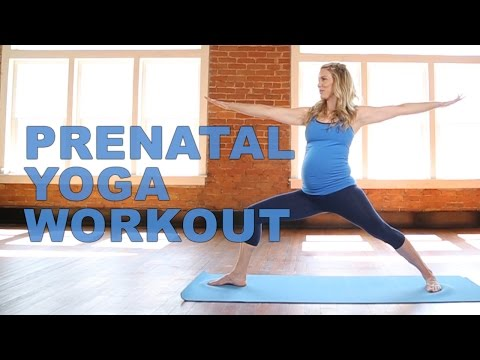 Prenatal Yoga Workout With Celebrity Trainer, Kristin McGee!