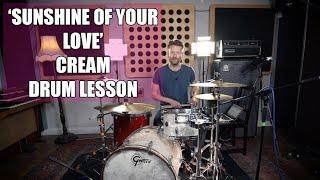 'Sunshine Of Your Love' - Krim - Pelajaran Drum (Ginger Baker)