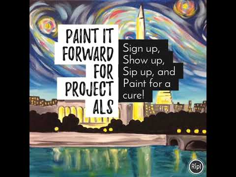 Paint it Forward for Project ALS