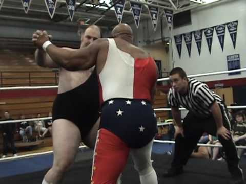Tony Atlas and Onyx vs Hojo and Demolition Ax (with Ox Baker)