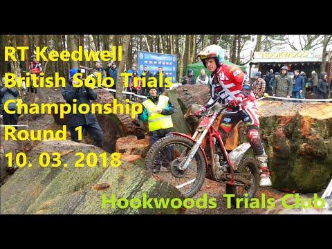 RT Keedwell British Solo Trials Championship Round 1 - 10 March 2018 Trial Hook Woods Trials Club