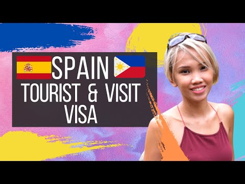 How To Apply For Spanish TOURIST/ VISIT VISA For FILIPINOS
