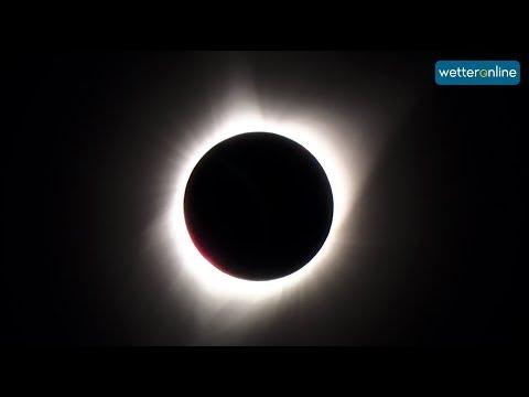 Totale Sonnenfinsternis In Den USA - Was Für Ein Spektakel (22.08.2017)