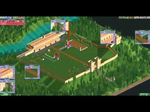 Roller Coaster Tycoon 2 - Crazy Castle - Playthrough |