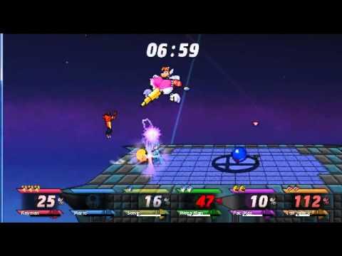 Mario Vs Sonic Vs Megaman Vs Pacman Rayman VS Mario...