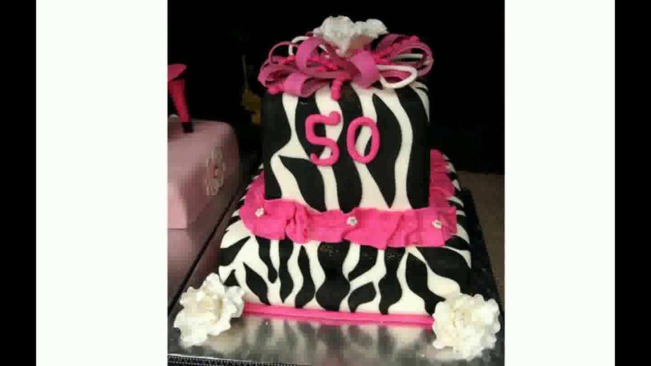 50th Birthday Cake Ideas Youtube
