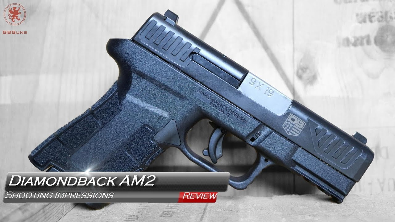 Diamondback Firearms AM2 Compact Pistol – Video Review - Gun Tshirts