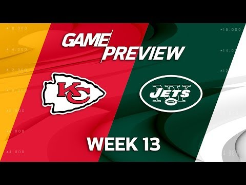 Kansas City Chiefs vs. New York Jets | Week 13 Game Preview | NFL Playbook