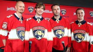 Florida Panthers introduce team members