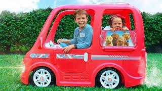 Max y Katy y series de compilación sobre autos