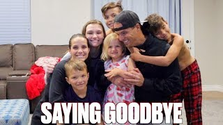 SAYING GOODBYE TO OUR KIDS | PARENTS LEAVE KIDS FOR THE FIRST TIME