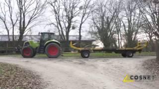 Cosnet agricole - Plateau fourrager porté SATURNE PE