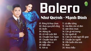 Như Quỳnh Mạnh Đình - Nhạc Vàng Bolero Hải Ngoại Hay Nhất 2019 - Lk Bolero Như Quỳnh Mạnh Đình
