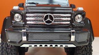 ГЕЛИК G500 ... Мощный, квадратный, понапичканый! Traxxas TRX-4
