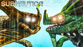 Subnautica - SEA EMPEROR FIGHTS ALL LEVIATHANS, GUN ARRAY DISABLED UPDATE - Experimental Gameplay.mp3
