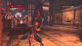 Deadpool Walkthrough Part 5:5 (XBOX 360)