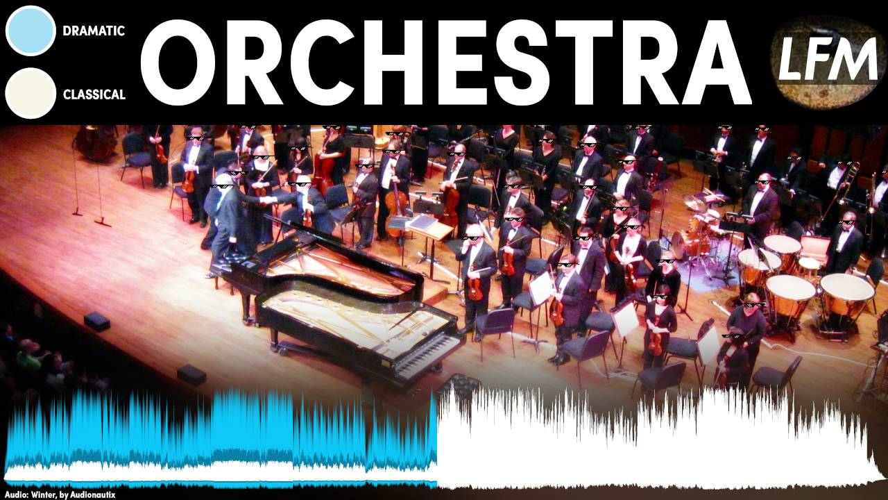 Dramatic Orchestra Background Instrumental | Royalty Free Music