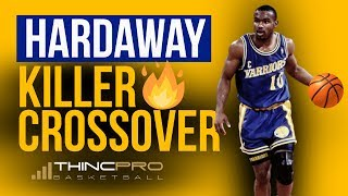 How to - Tim Hardaway KILLER CROSSOVER Basketball Move (Step by Step Basketball Dribbling Moves)