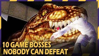 10 video game bosses nobody can defeat