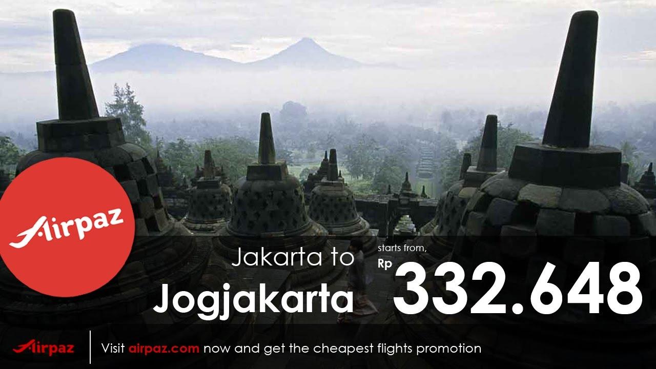 Tiket Pesawat Termurah Jakarta Yogyakarta Mulai Dari Rp 332 648 Cek Airpaz Sekarang
