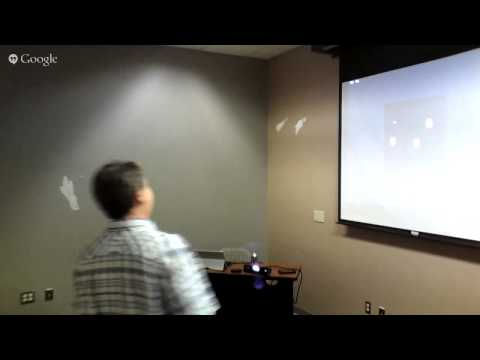 Tim Huckaby presents Kinect 2 for Central California .NET User Group