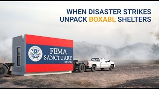 When disaster strikes.... Can Boxabl be there?