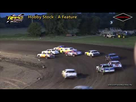 Hobby Stock Feature - Rapid Speedway - 6/29/18