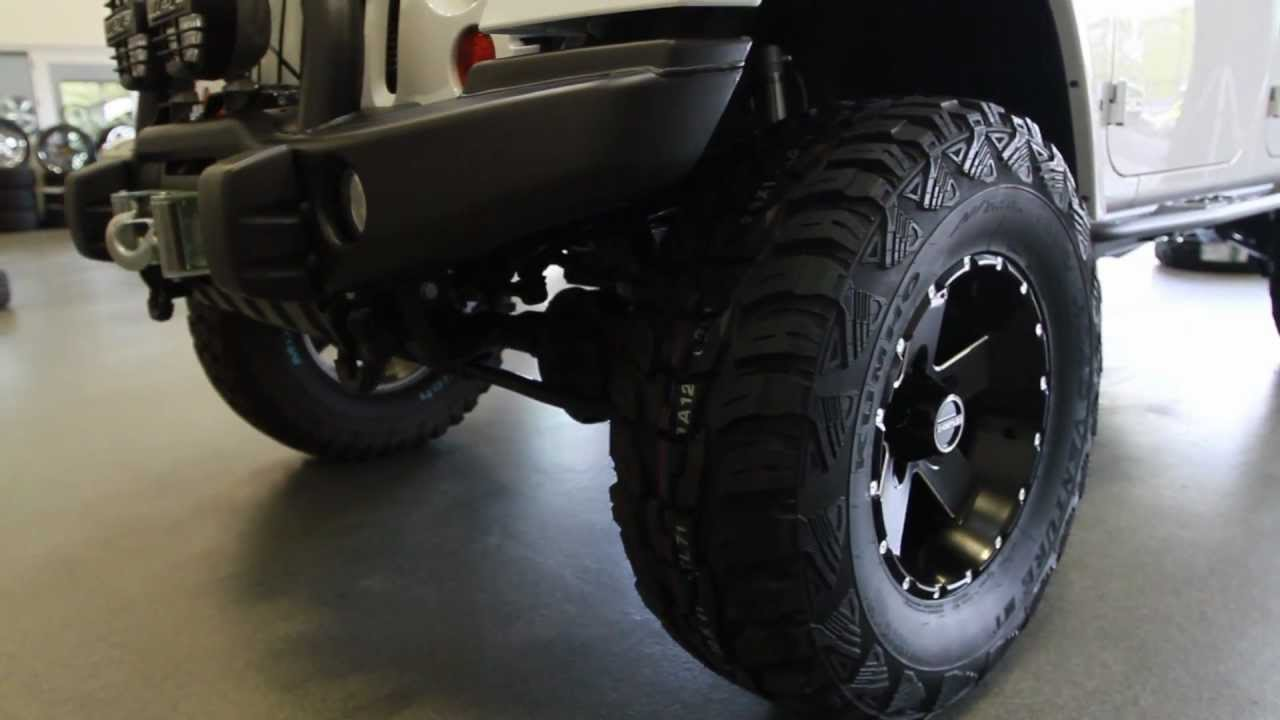 Jeep Wrangler Unlimited Lifted >> Hostile Wheels 17x9 Moab H100 | 2012 Jeep Wrangler ...