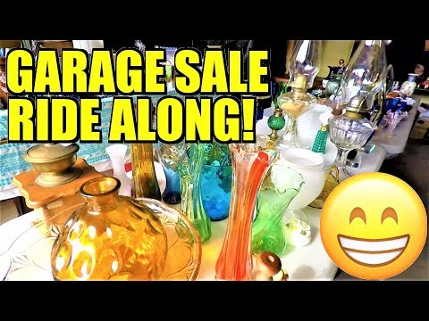Ep177: WE FOUND GOLD & SILVER JEWELRY! - COME THRIFT WITH US! - The ORIGINAL Garage Sale VLOG!