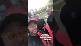 Baixar Neymar, Daniel Alves e Marquinhos curtindo O AMANTE - Thiago Matheus