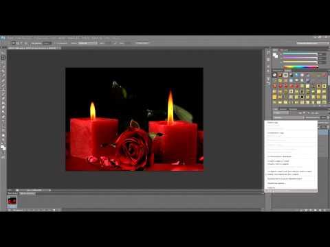 Анимация свечи