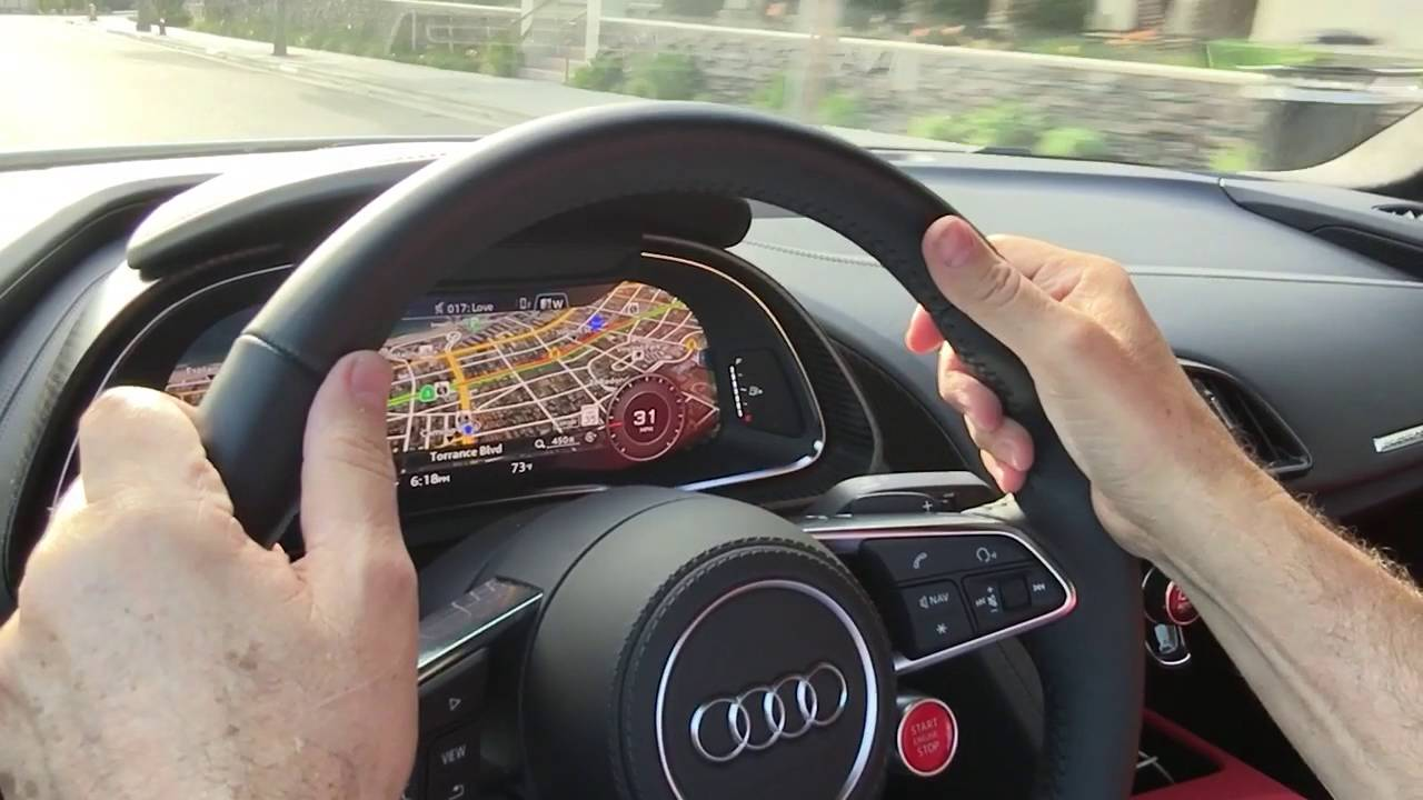 audi r8 virtual cockpit youtube. Black Bedroom Furniture Sets. Home Design Ideas