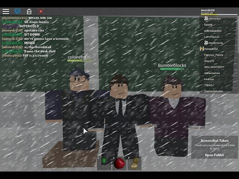 Natural Disaster Survival gameplay. (Featuring Asher, James and Mason)