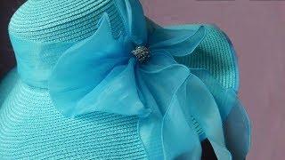 Шляпа с широкими полями c Алиэкспресс - Подробный ОБЗОР