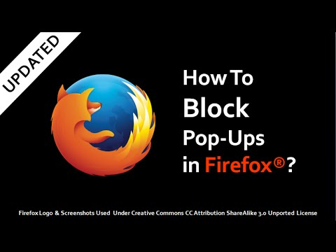 Block All Pop - Ups On All Webpages In Safari, FireFox ... | Doovi