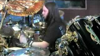 Joey Jordison Playing .Execute.  In Studio