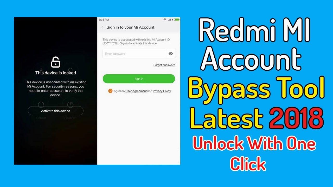 mi account unlock tool windows 7 64 bit