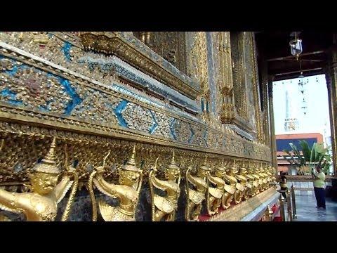 The beautiful Temple of the Emerald Buddha, Bangkok, Thailand