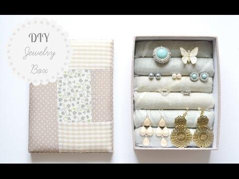 DIY Jewelry Box | Storage & Organization