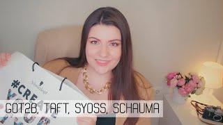 Новенькое для ухода за волосами от Got2b Taft Syoss Schauma