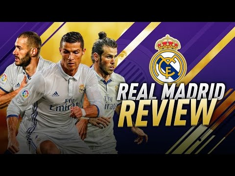 FIFA 17 REAL MADRID TUTORIAL / Best Formation Tactics & Instructions / How to Play with Real Madrid