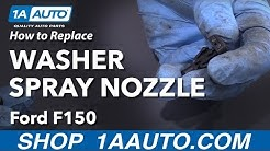 How to Replace Washer Spray Nozzle 09-14 Ford F-150