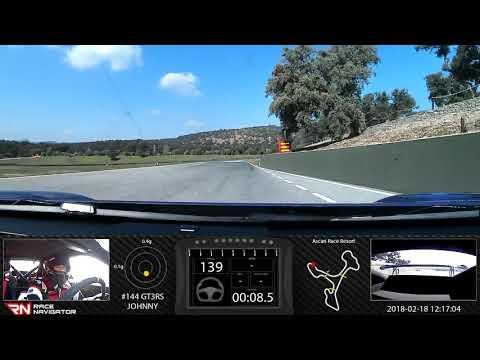 Circuito Ascari : Ellfolk racing porsche gt rs mk i onboard video ascari race