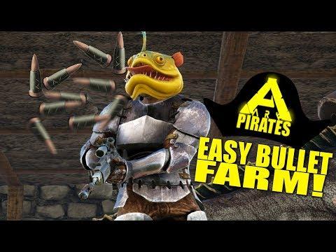 EASY BULLET FARM RAID! (Ark Pirates Official Pvp) - Ark:Survival Evolved - Ep.27