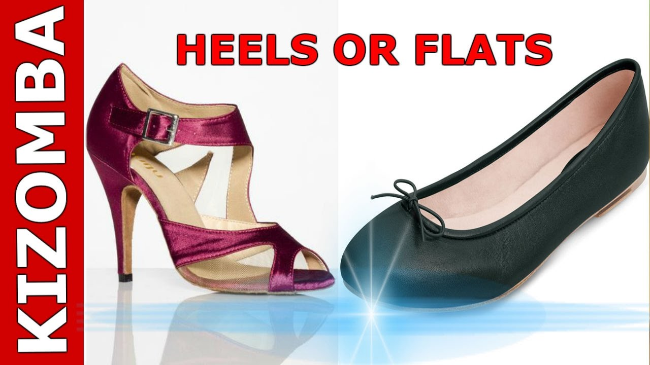 Kizomba dancing on Heels or Flats? The