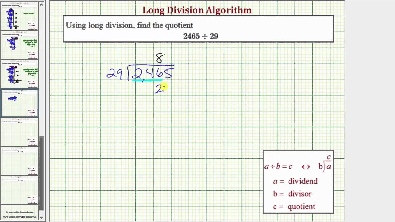 worksheet Division No Remainders ex long division 4 digit divided by 2 no remainder remainder