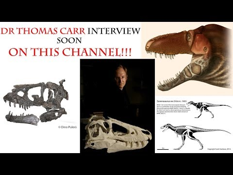 Interview with Dr Thomas Carr - COMING SOON!