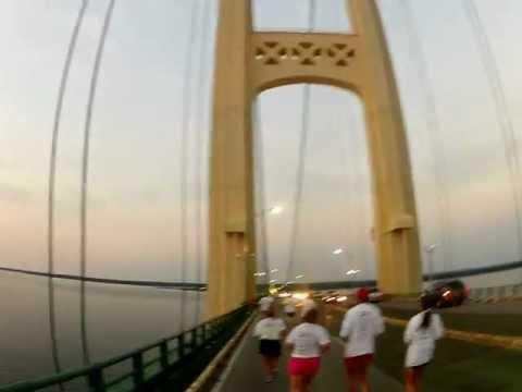 A Run Across the Mackinac Bridge