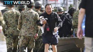 Typhoon Hagibis: Japan hit by biggest storm in six decades