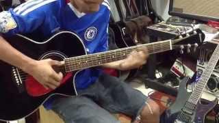 Belajar melodi dasar pada gitar akustik Full fersion